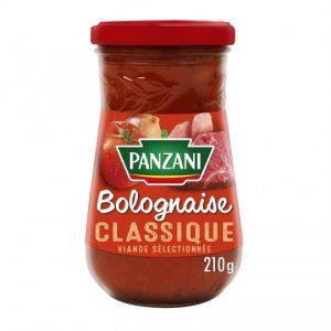 PANZANI SAUCE BOLOGNAISE CLASSIQUE 210G.
