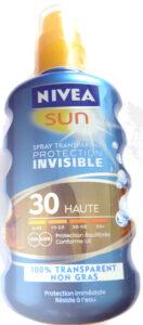 nivea sun protection invisible 30 haute