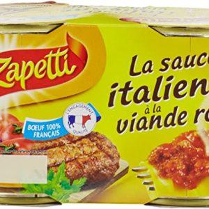 ZAPETTI SAUCE ITALIENNE A LA VIANDE ROTI