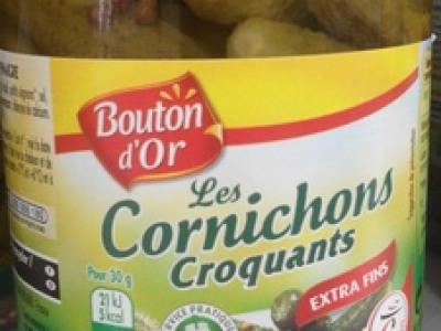 BOUTON D OR LES CORNICHONS CROQUANTS EXT