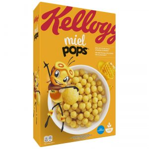 CEREALES MIEL POPS KELLOGS 400G - Copie