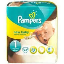 PAMPERS COUCHES NEW BABY PREMIUM PROTECT