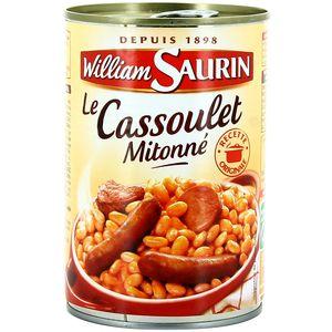 WILLIAM SAURIN CASSOULET MITONNE 420G.jp